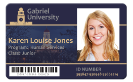 how to make college id card