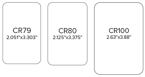 Standard ID Card Sizes