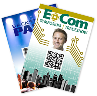 Examples of Oversized Event Badges