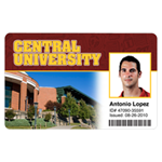 Example of a College ID Card