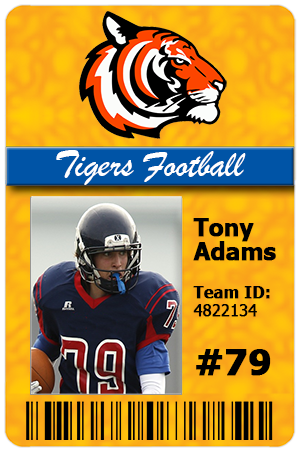 ID Cards for Team Sports