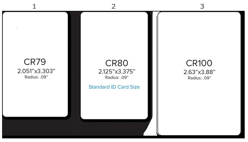 Standard ID Card Size Dimensions