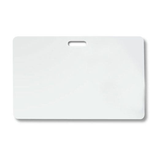 """TEMPbadge 05661 3"""" X 4"""" Reusable Badge Back for Adhesive ID Badges - 1,000 per pack"""