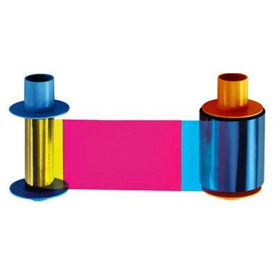 Fargo YMCKO Color Ribbon For DTC4500e & DTC4500 Printers - 45200