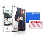 Shop Jolly Lobby Track & CardExchange Software, Expiring Visitor ID Badge