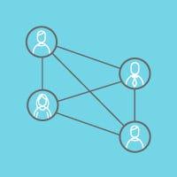 Team Collaboration via CloudBadging ID Badge Card Software