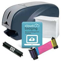 IDP SOLID-310SE System Printer Bundle with CloudBadging Software