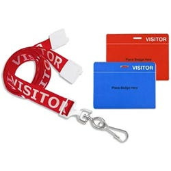 Shop Visitor Badge Accessories